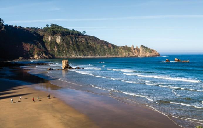Mantenimientos en playas de Asturias