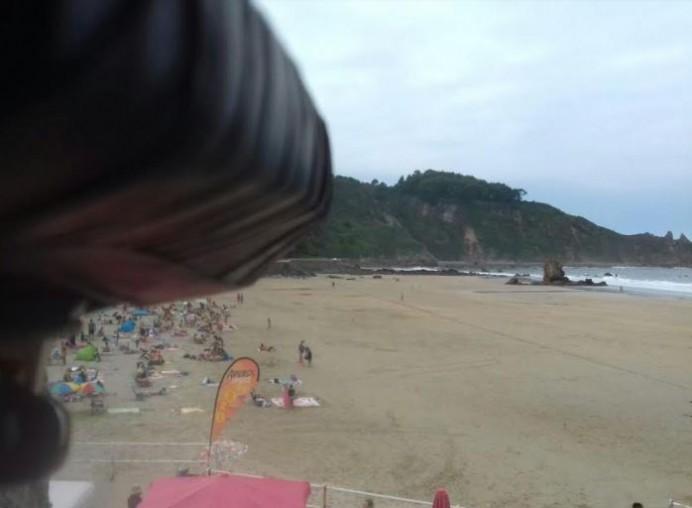 De nuevo en marcha la cam desde la Playa de Aguilar