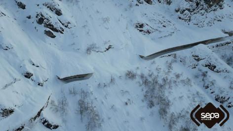 Aviso de riesgo de aludes en los Picos de Europa