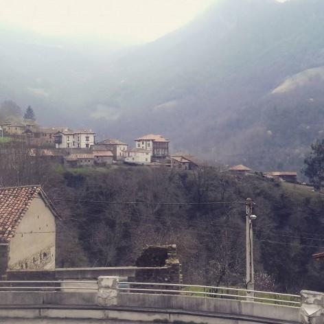 Reparada la webcam de San Juan de Beleño en Ponga