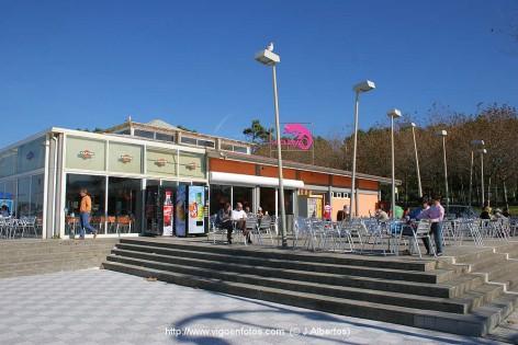 Café Bar Camaleón en la Playa de Samil de Vigo