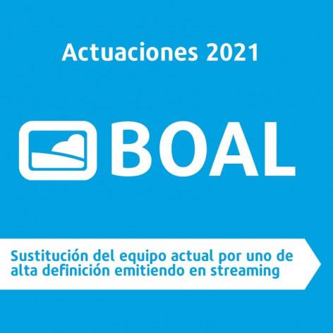 Asturias: Nuevo equipo HD desde Boal