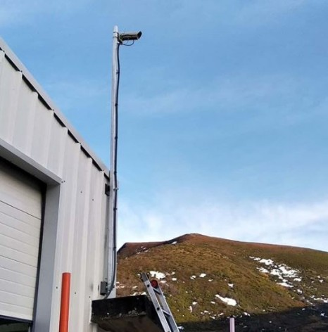 Instalada nueva webcam en la Estación Invernal de Pajares