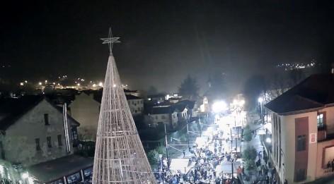 Laviana inaugura su Navidad