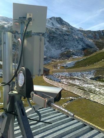En funcionamiento las webcams de las estaciones de esquí de Asturias
