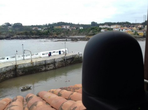 Nueva webcam HD desde Luanco