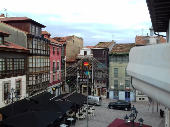 Nueva cámara HD desde la Plaza Parres Sobrino de Llanes