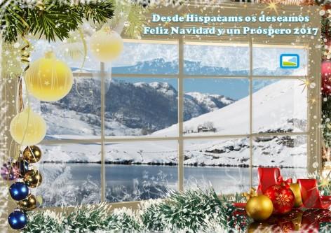 Felicitación navideña de Hispacams
