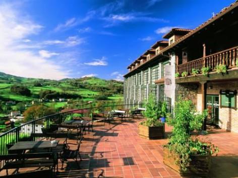 Hotel La Cepada, El Cenador de los Canónigos en Cangas de Onís