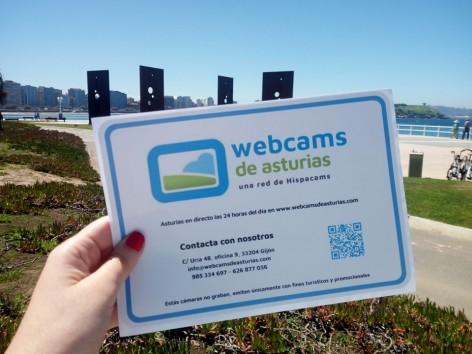 Encontrar los lugares donde están instaladas las Webcams de Asturias tendrá premio este verano