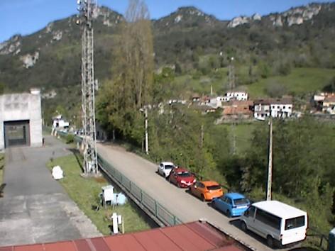 Instalada una nueva webcam en Proaza