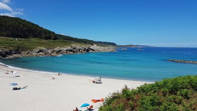 La playas de A Marosa y Portelo en Burela en calidad HD