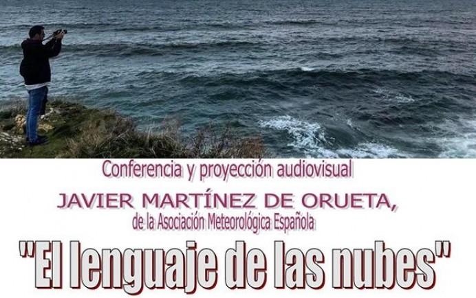 Charla meteorólogo Javier Martínez: El lenguaje de las nubes