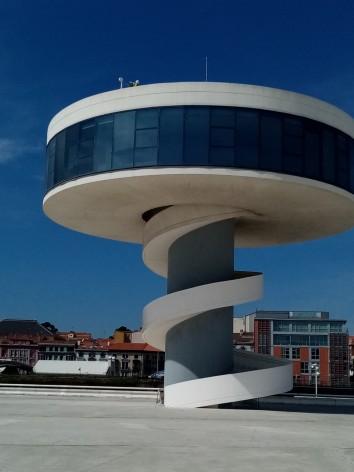 Instalada una nueva cam HD desde el Centro Niemeyer de Avilés