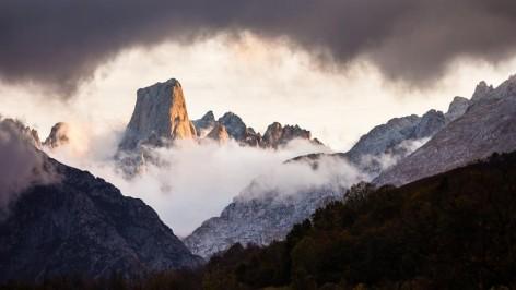 Aviso de riesgos de aludes en Picos de Europa