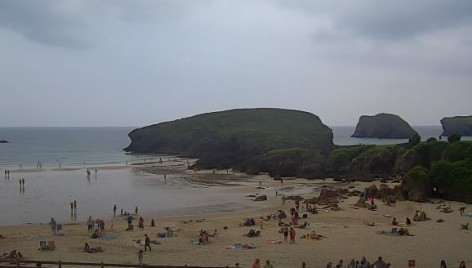 playa espana asturias webcam