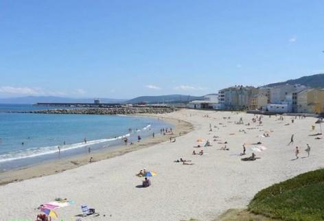 Nueva webcam desde la playa de Portelo en Burela