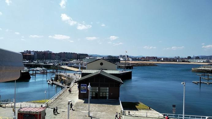 De nuevo online la cam del puerto deportivo de Gijón