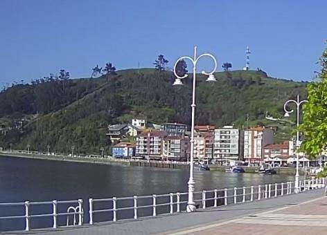 Nueva cámara HD desde el Paseo Princesa Letizia en Ribadesella -emisión en pruebas-