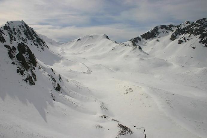 Riesgo de aludes en Picos de Europa