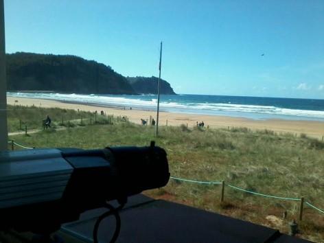 Webcams en las playas de España