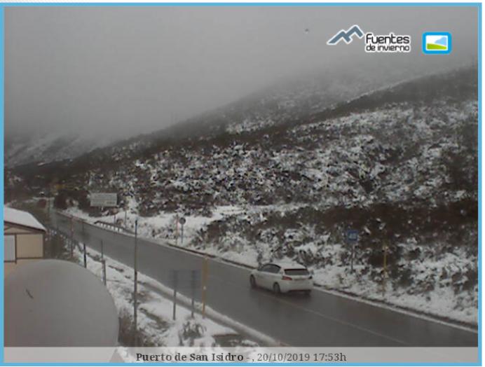 Llegan las primeras nieves de la temporada al norte de España