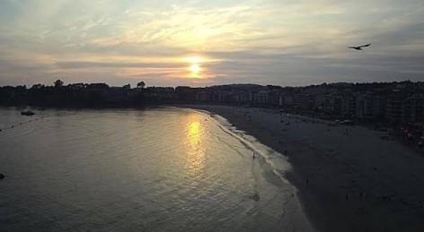 Nueva cam HD desde la Playa de Silgar en Sanxenxo