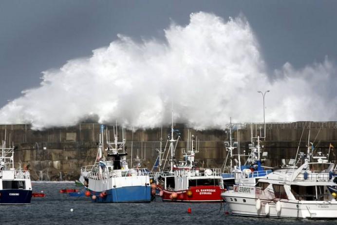 Aviso por fenómenos meteorológicos adversos en el Cantábrico
