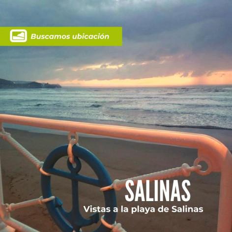 ¿Tienes una buena ubicación en la playa de Salinas - Asturias?