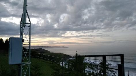 Asturias: El Arenal de Morís en Caravia en calidad HD desde la Cuadra del Catalín